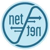 NET TEN web logo color