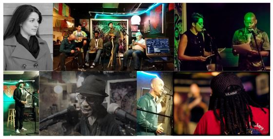 Veterans Open Mic collage 2015
