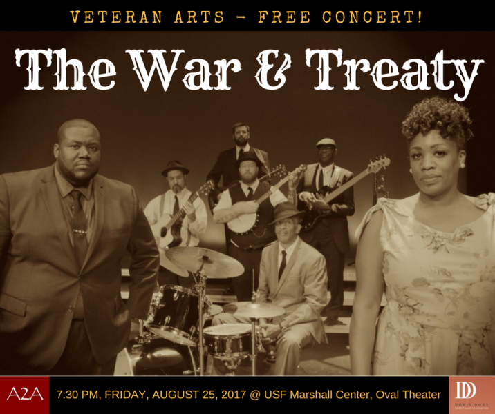War & Treaty Aug 2017 concert
