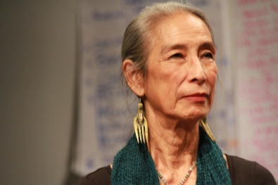 Nobuko Miyamoto at the Pilot Intensive (photo by Luminous Concepts, 2012).