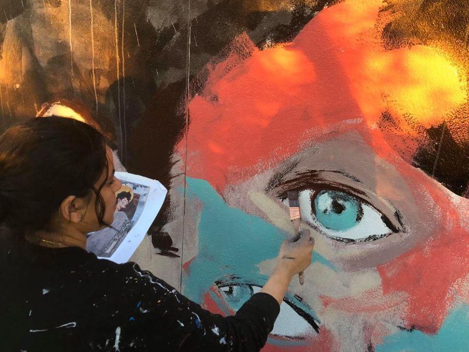 Aya Eye close-up (photo by Ameena)